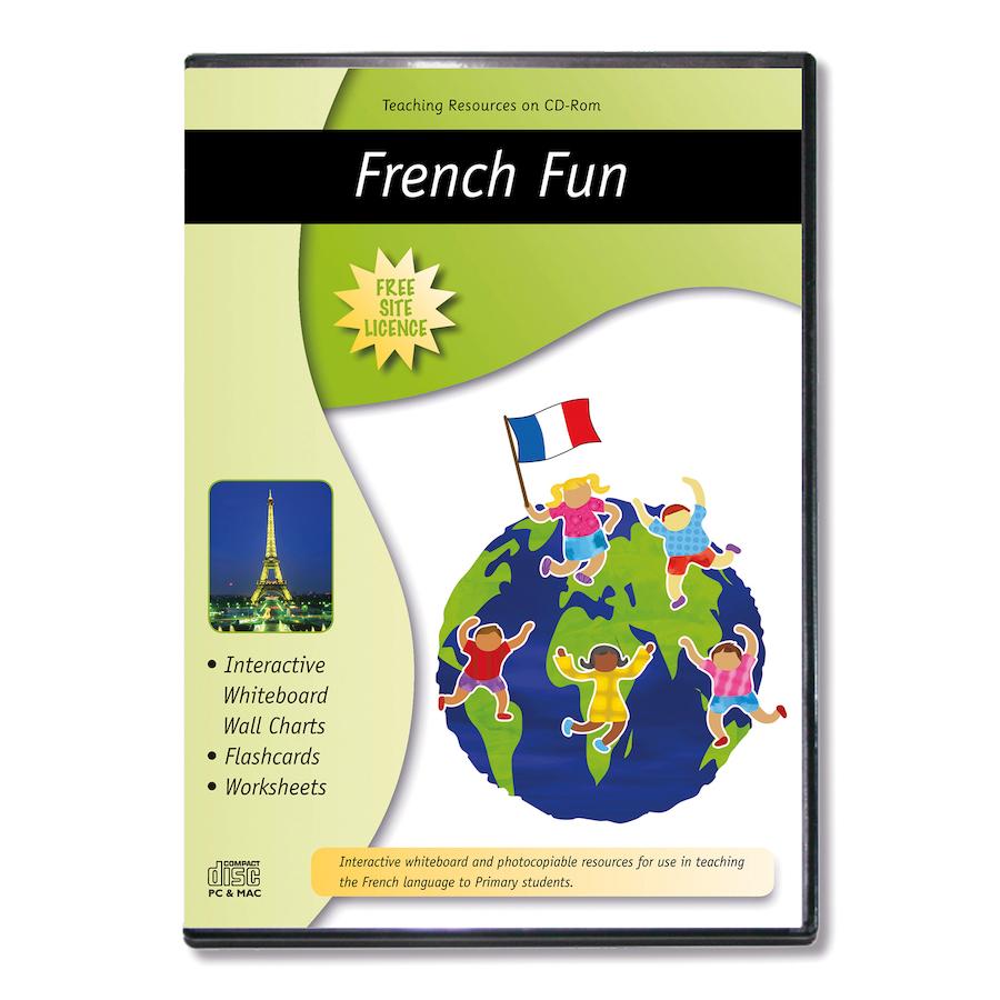 buy french fun worksheets cd tts. Black Bedroom Furniture Sets. Home Design Ideas