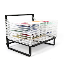 Spring Loaded Drying Rack  medium