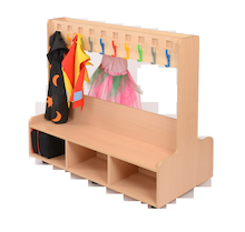 Double Sided Dress Up Unit with 20 Hooks  medium