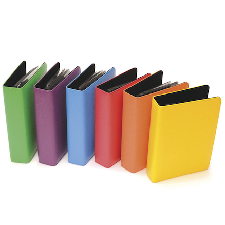 A5 Rainbow Talking Photo Albums 6pk  large