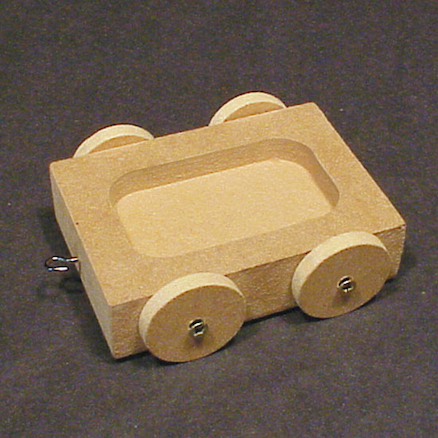Forces Slopes Wooden Car  large