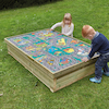 Small World Wooden Sandbox  small