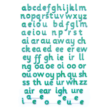 Magnetic Phonemes And Letters Set  medium