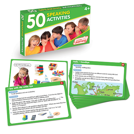 Speaking Activity Cards  large