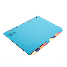 Premium A4 Manilla File Dividers  medium