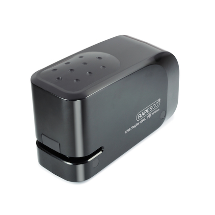Automatic USB Battery Stapler Black  large