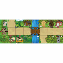 Bee-Bot® and Blue-Bot Fairytale Mat  medium