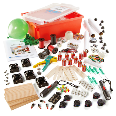 Bumper Electricity Experiments Class Kit  large