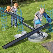 Outdoor Jumbo Guttering and Channelling Set  medium