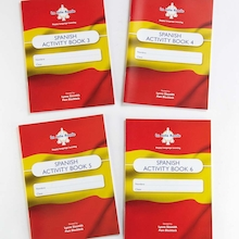 Spanish Activity Books 10pk  medium