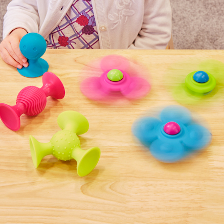 Squigz Rubber Baby Manipulative Toy Collection  large