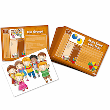 Fraction Action Activity Cards Buy all and Save  medium
