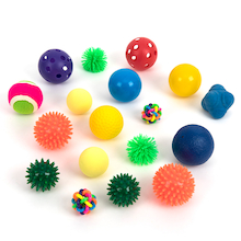 Multi-Sensory Textured Ball Pack 20pk  medium