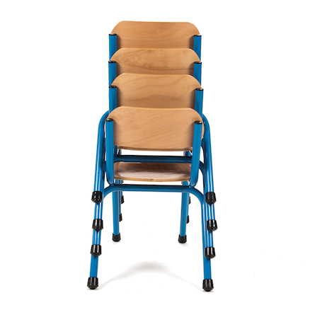 Copenhagen Classroom Chair 210mm Blue  large
