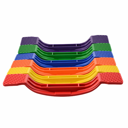 Six Colour Balance Boards 6pk  large