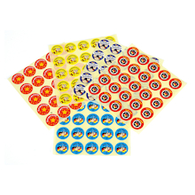 German Reward Assorted Stickers 125pk  medium