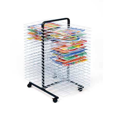 Large 40 Shelf Mobile Drying Rack  large