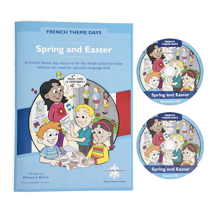 French Theme Days Spring and Easter Book  large