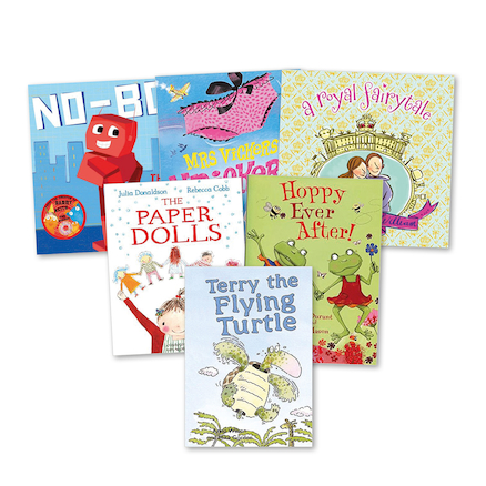 KS1 and KS2 Contemporary Author Books  large