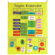 My Calendar German Vocabulary Wall Hanging  medium