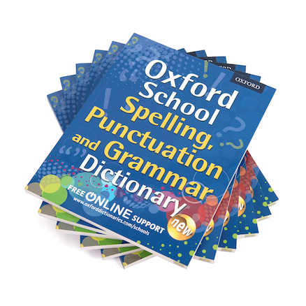 Oxford School S.P.A.G Dictionary  large