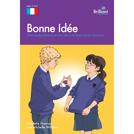 Bonne Id\u00e9e French Photocopiable Activities Book  large