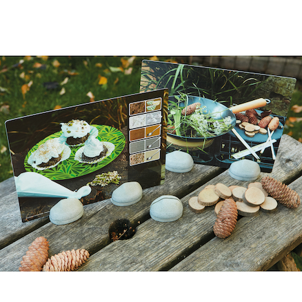 Mud Kitchen Activity Cards 16pk  large
