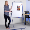Height Adjustable Drywipe Flipchart Easel  small