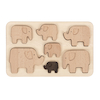 Elephant Wooden Sorting Puzzle  small