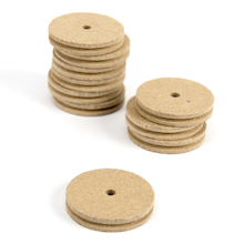 Wooden Pulley 34mm Diameter 10pk  medium