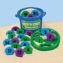 Number Shells Sieve and Bucket Set 1-20  medium