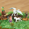 Small World Mythical Character Set 5pcs  small