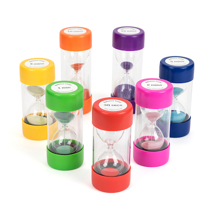 Large Plastic Sand Timers  large