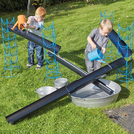 Outdoor Jumbo Guttering and Channelling Set  large