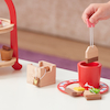 Wooden Tea Bag Set 4pcs  small