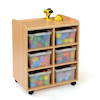 Safe Sturdy Tray Storage Units With Deep Trays  small