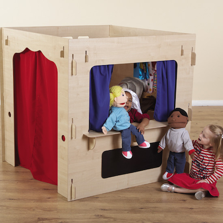 Role Play Dressing Up Cube  large