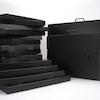 Pisces Black Portfolio Carry Case  small