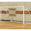 Foldaway 5 a side Steel Football Goal Posts  small