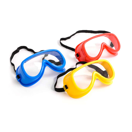 Coloured Safety Goggles  large
