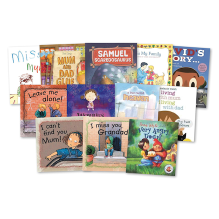 KS1 Dealing With Sensitive Issues Books 12pk  large