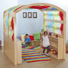 Wooden Indoor Den Lightcatcher Rainbow Centre  small