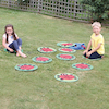 Back to Nature Outdoor Ladybird Counting Mats 24pk  small