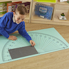 Giant Colourful Protractor Playmat  small