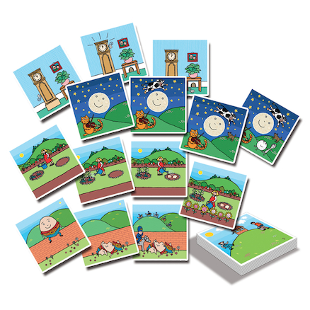 Nursery Rhyme Sequencing Cards  large