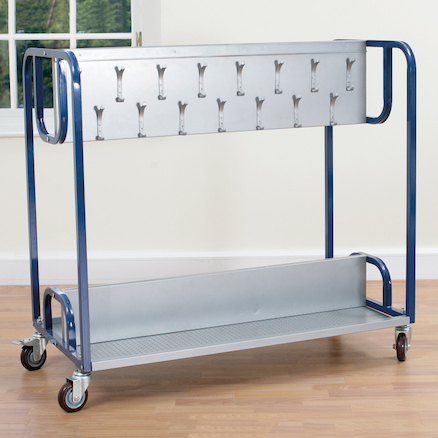 Steel Frame Classroom Cloakroom Trolley  large