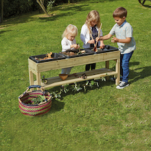 Outdoor Discovery Messy Table with Rubber Trays  medium