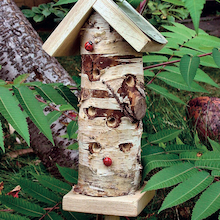 Ladybird Insect Habitat Tower  medium