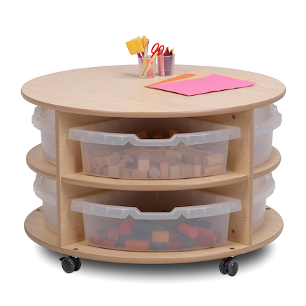 PlayScapes Circular Storage Units  large