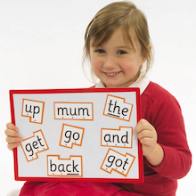 Phonics Magnetic High Frequency Words Set 100pk  medium